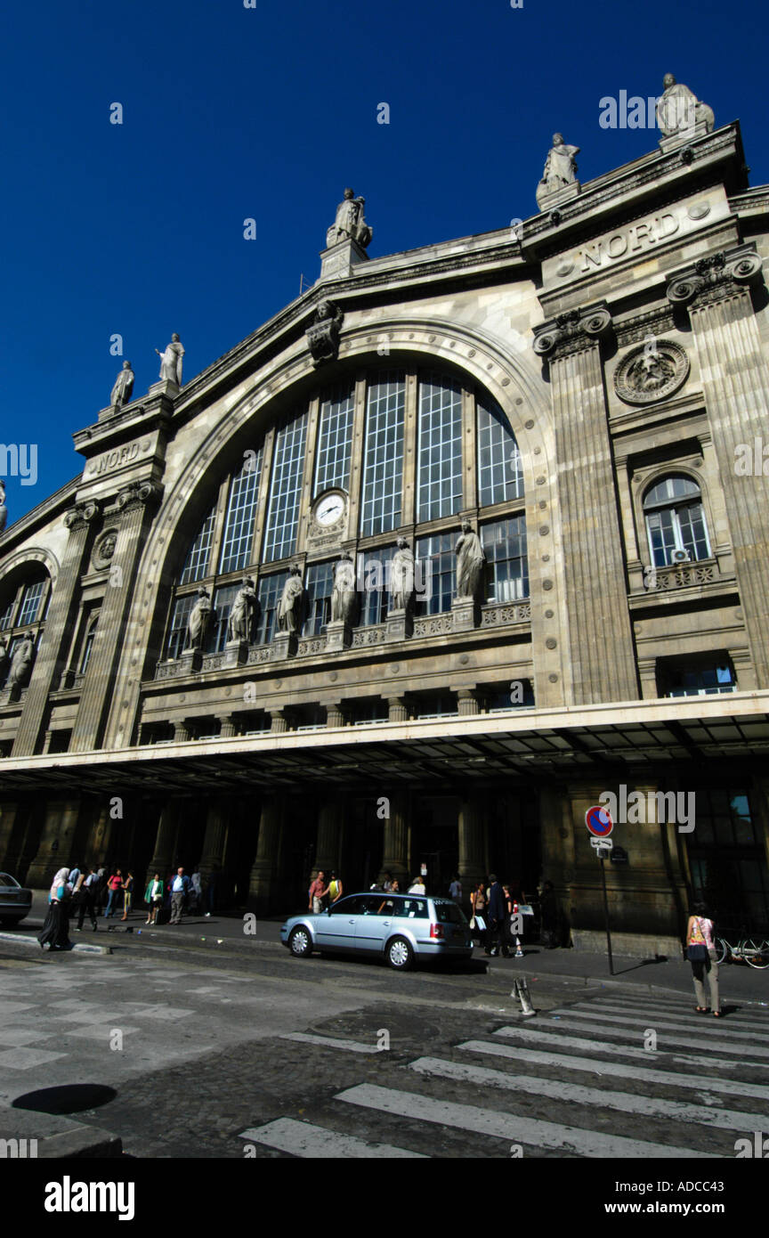 gare du nord train station paris france stock photo royalty free image 904259 alamy. Black Bedroom Furniture Sets. Home Design Ideas