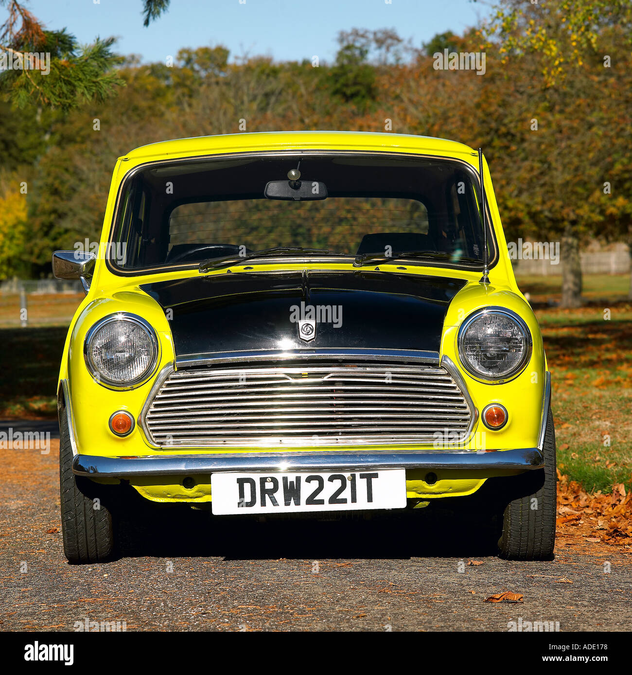 Mr Bean S Mini From The Tv Programme Of The Same Name Stock Photo Royalty Free Image 909688