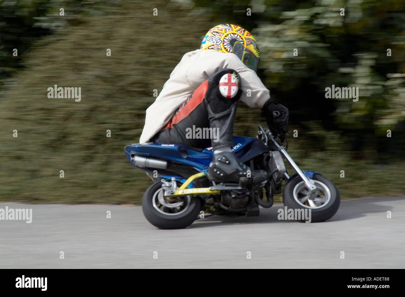 Mini Moto Motor Cycle Motorcycle Bike Motor Bike Small Tiny Ride Rider  Riding Mini Miniature Man Ideas