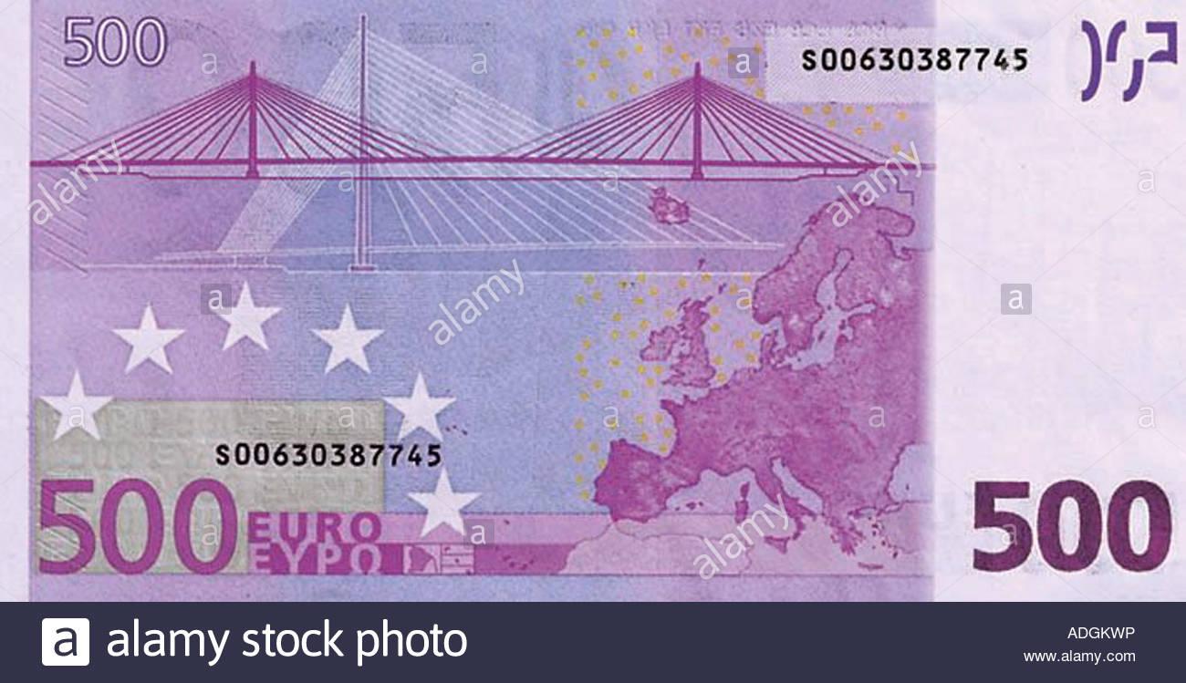 500 euro schein stockfoto lizenzfreies bild 13416225 alamy. Black Bedroom Furniture Sets. Home Design Ideas