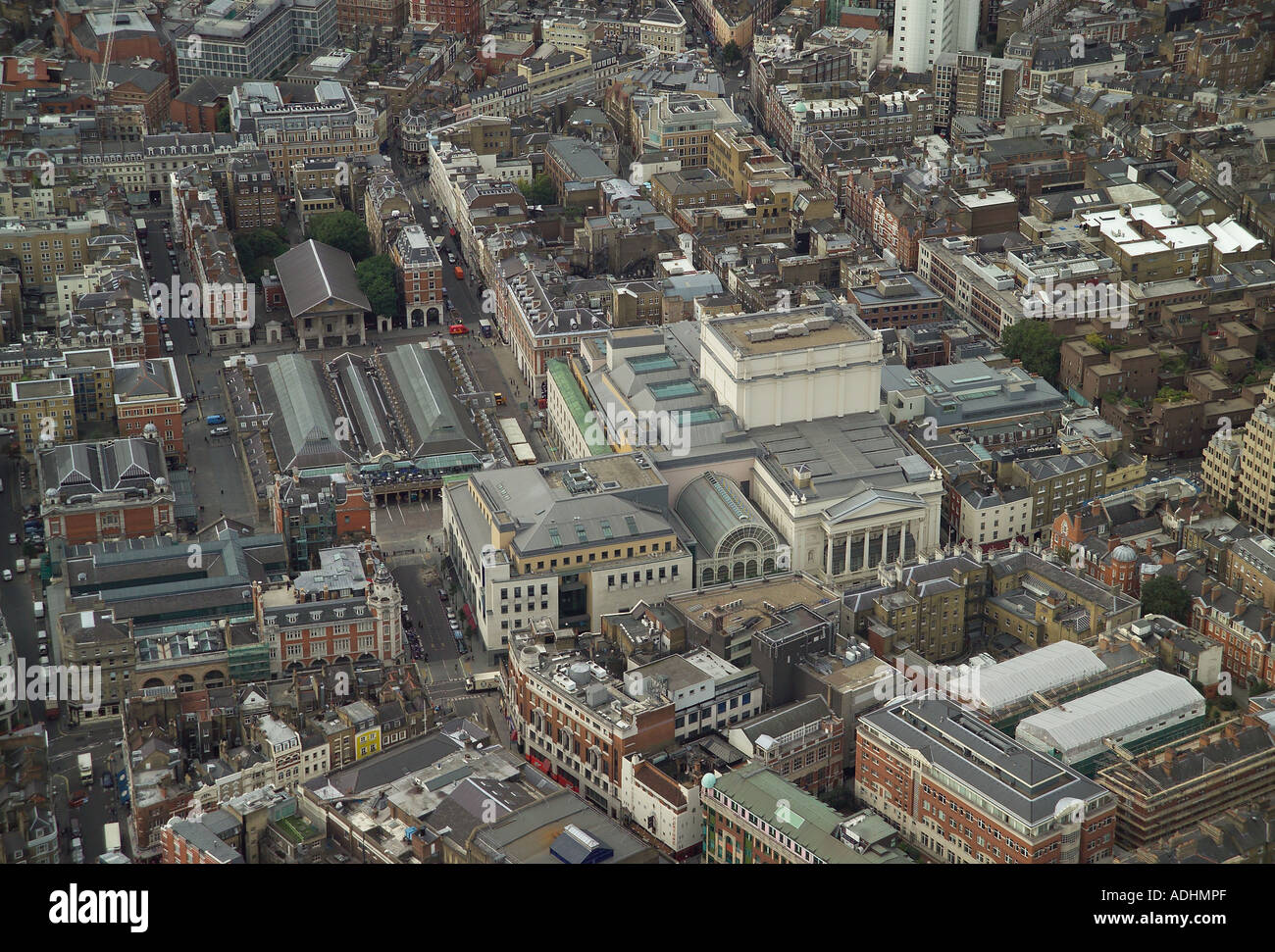 Aerial view of the royal opera house in the covent garden for See images of my house