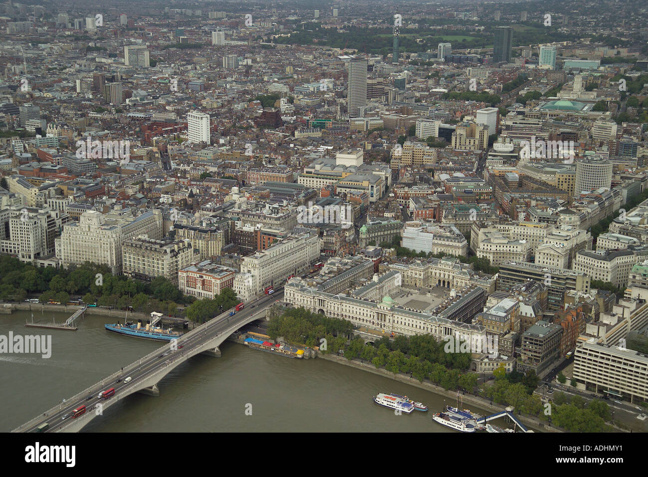 Aerial view of somerset house and covent garden in london for See images of my house