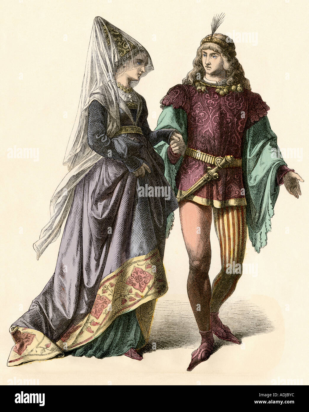 Medieval clothes and fashion 75