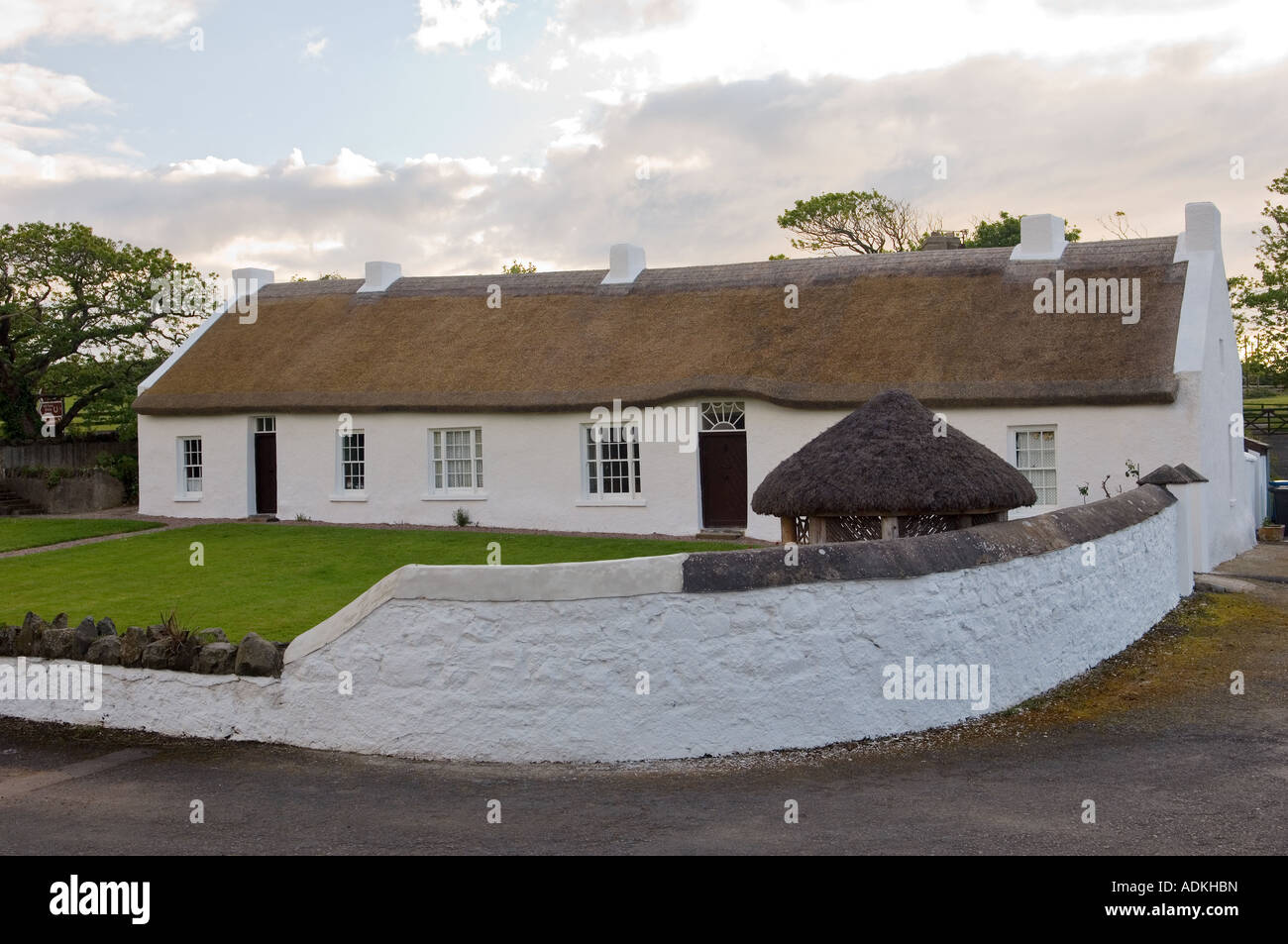 Hezlett House A Cruck Framed Thatched Cottage At