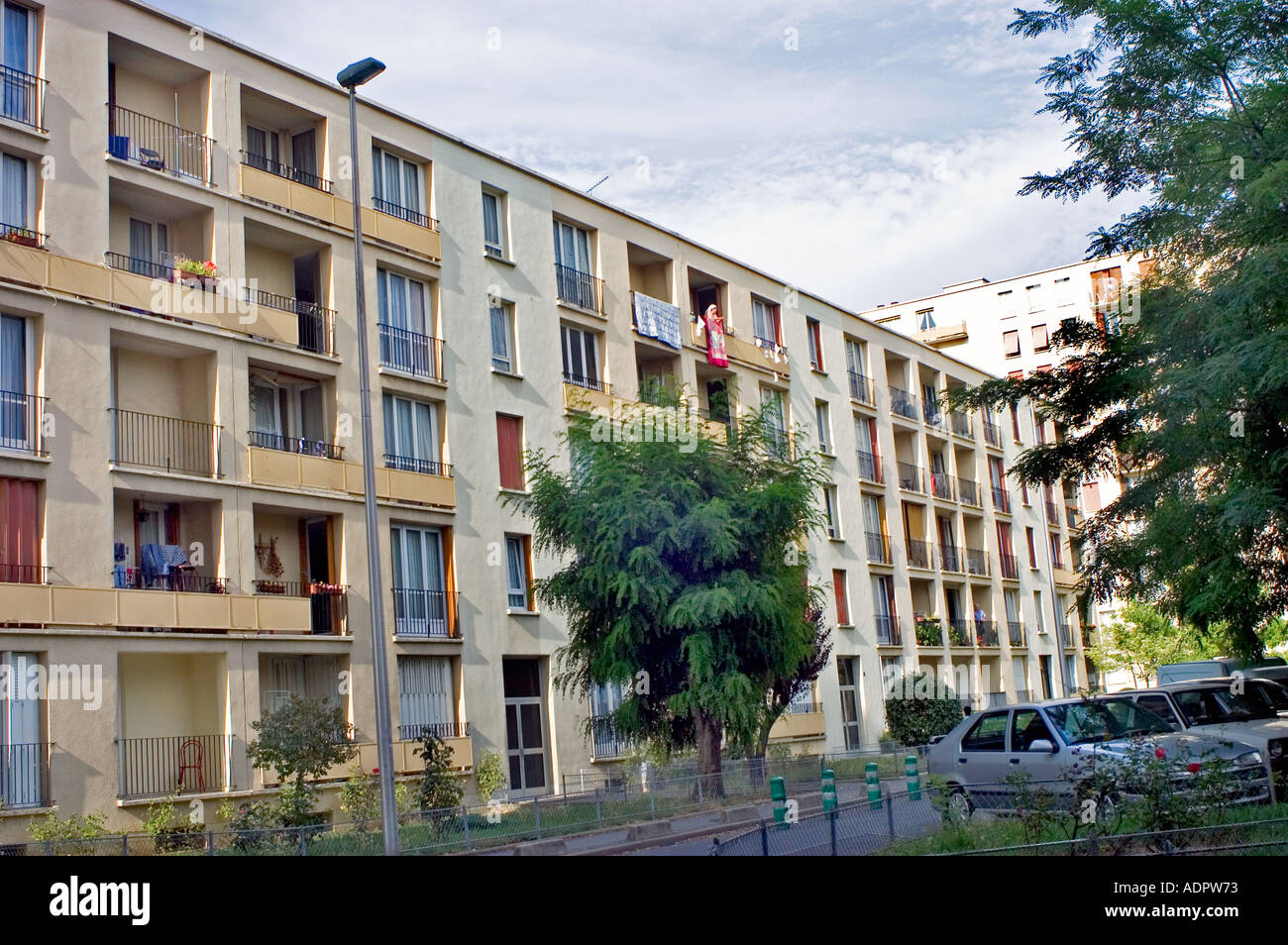 Hlm Apartments Stock Photos Hlm Apartments Stock Images Alamy