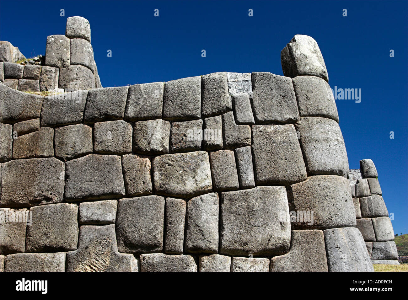 Sacsayhuaman inca fortress ruins ancient stone terrace