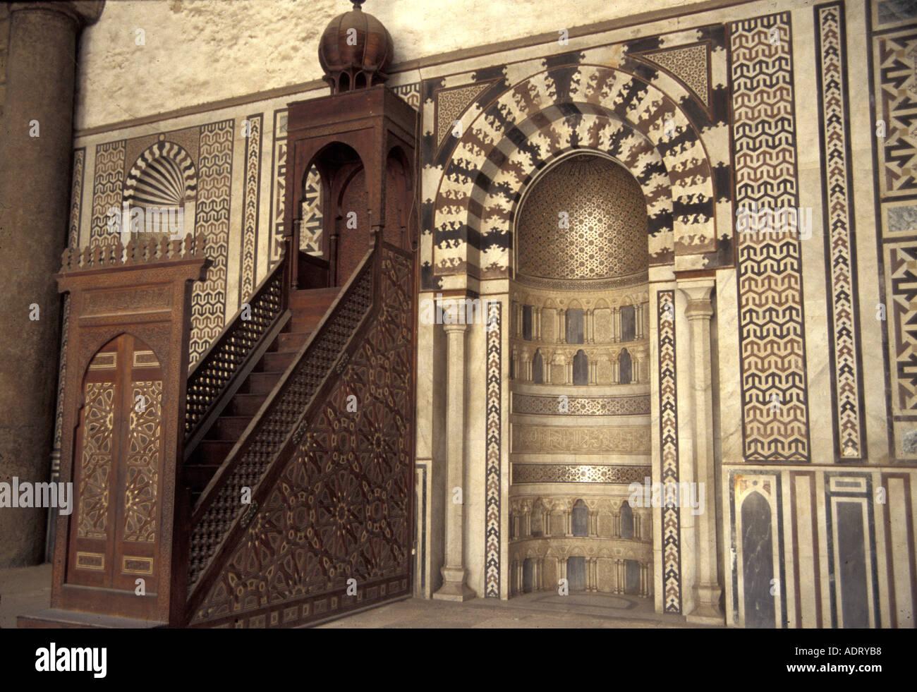 Islam Minbar And Mihrab Ottoman Architecture Sultan Pasha