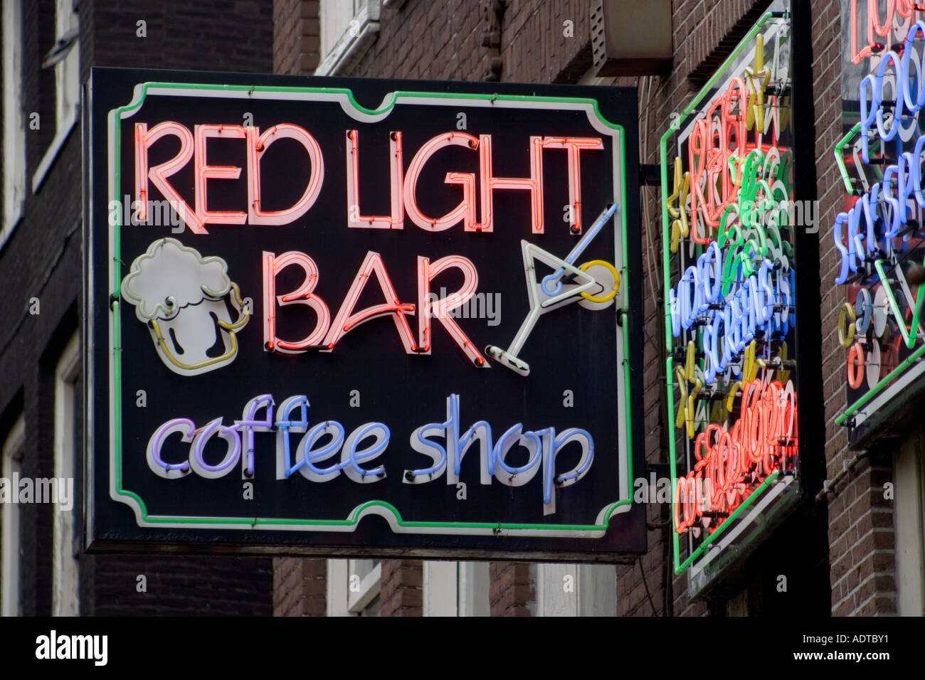 Red light bar amsterdam the netherlands stock photo royalty free red light bar amsterdam the netherlands aloadofball Image collections