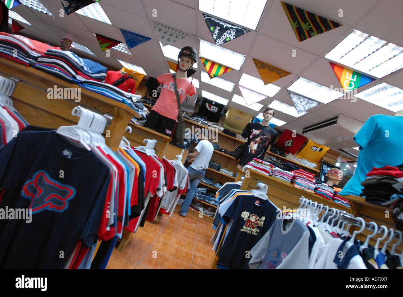 Goods clothing store