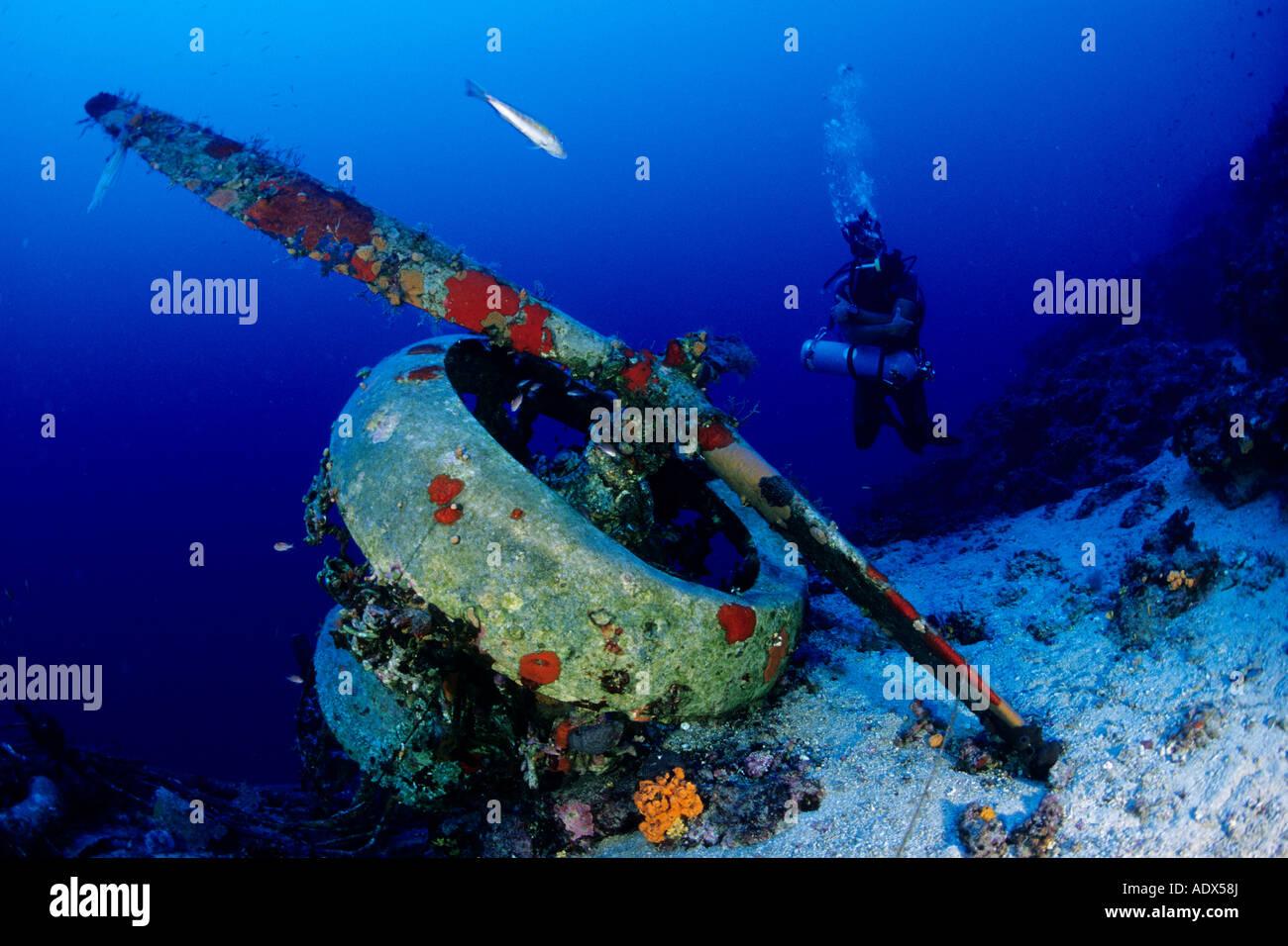 Savoia marchetti sm 79 gobba page 4 - Scuba Diver At Airplane Wreck Savoia Marchetti Sm 79 4 Kas Lycia Region Mediterranean Sea Turkey