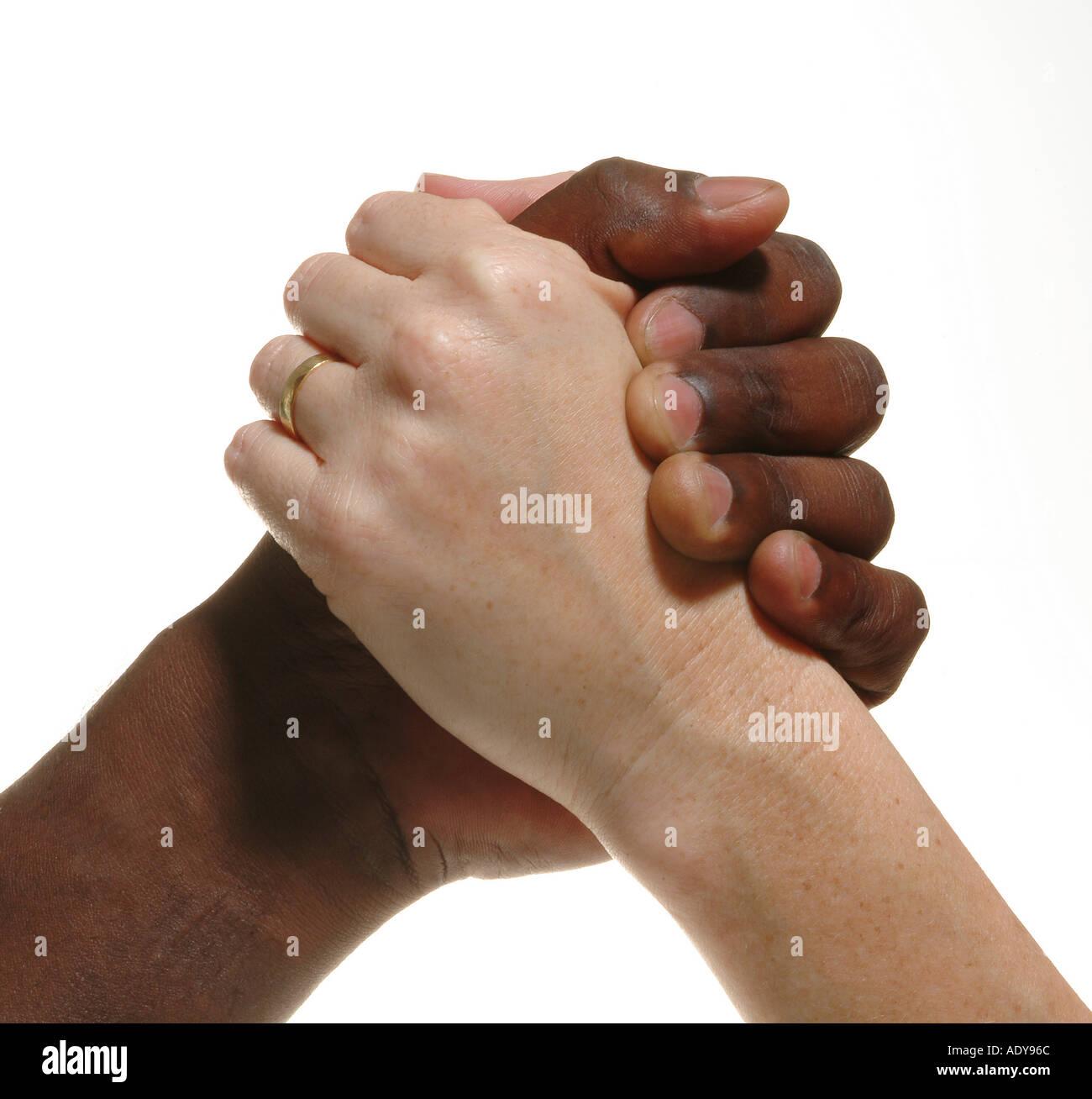 Through fist thumb
