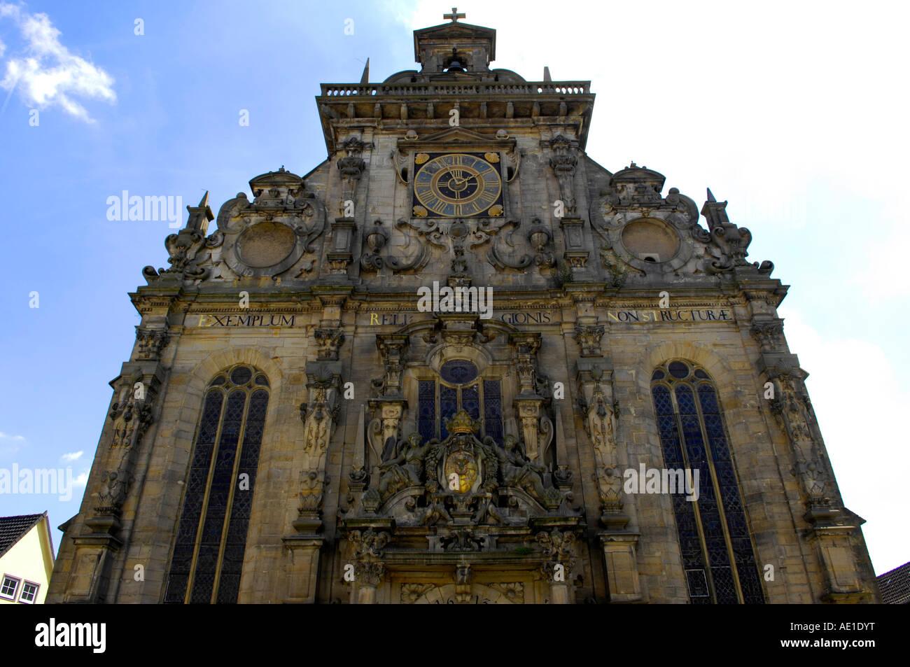 Old Ancient Town Church Stadt Krich Buckeburg Schaumburg Lippe Lower Saxony Germany German Deutsch Deutschland Europe Travel T