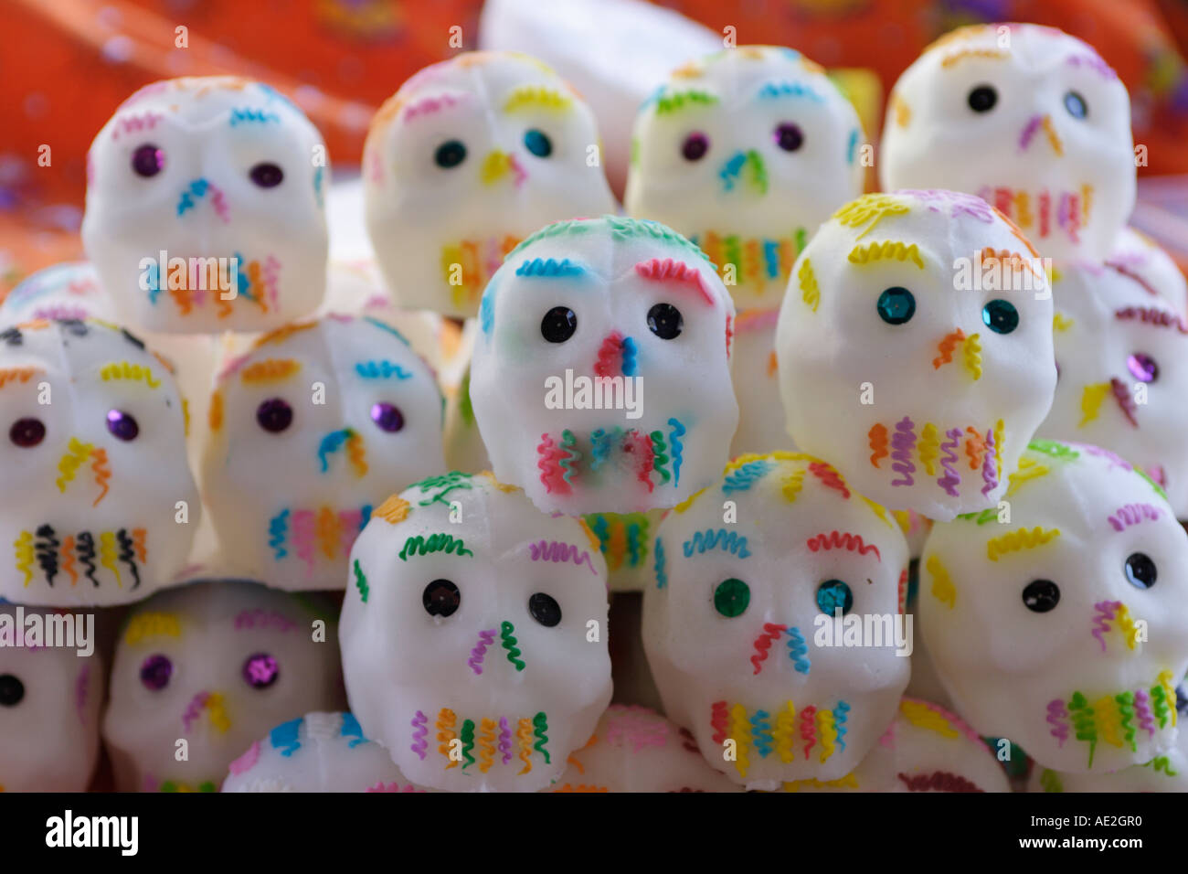 how to make sugar skull candy