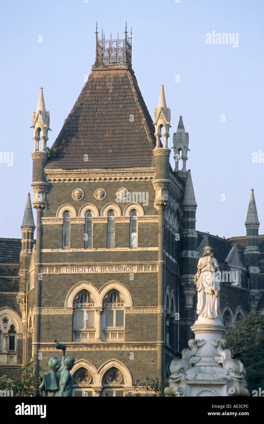 India maharashtra mumbai bombay oriental buildings british for Architecture orientale