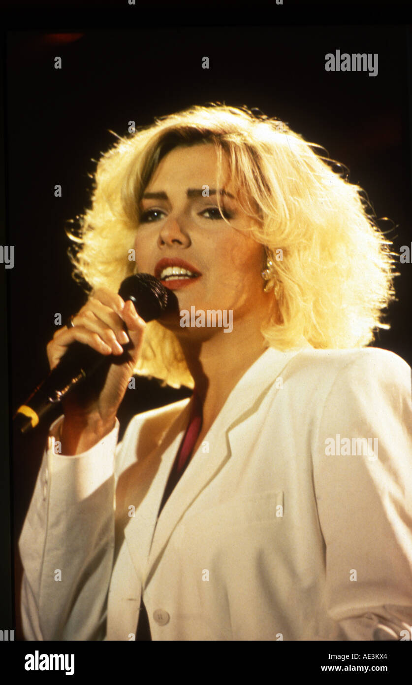 Kim wilde uk pop singer about 1985 stock photo royalty for Songs from 1988 uk
