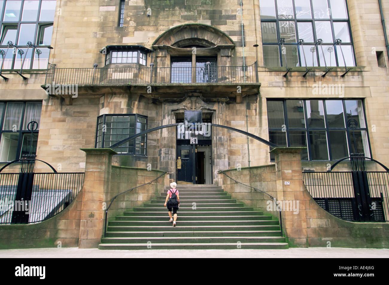 glasgow school of art, designedthe architect charles rennie