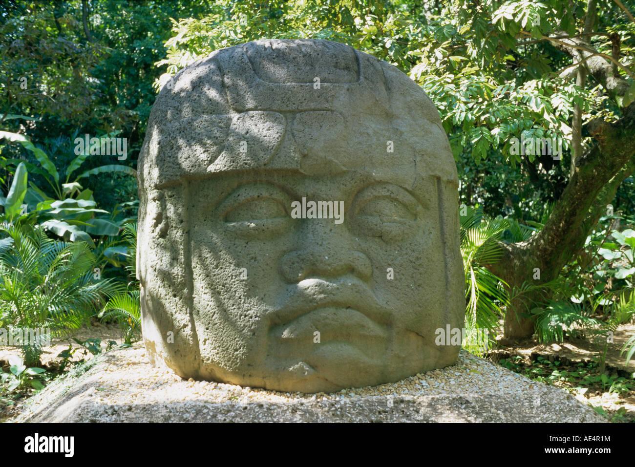 Foto De Parque Museo La Venta Villahermosa: Olmec Stone Head At Parque-Museo La Venta, Villahermosa