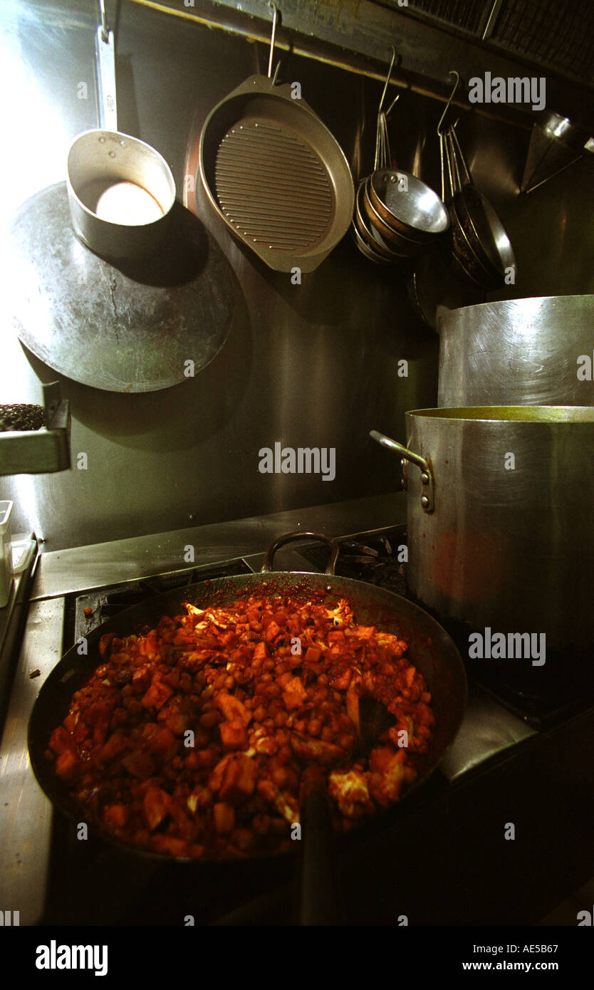 indian curry cooking at the organic kitchen brisbane australia