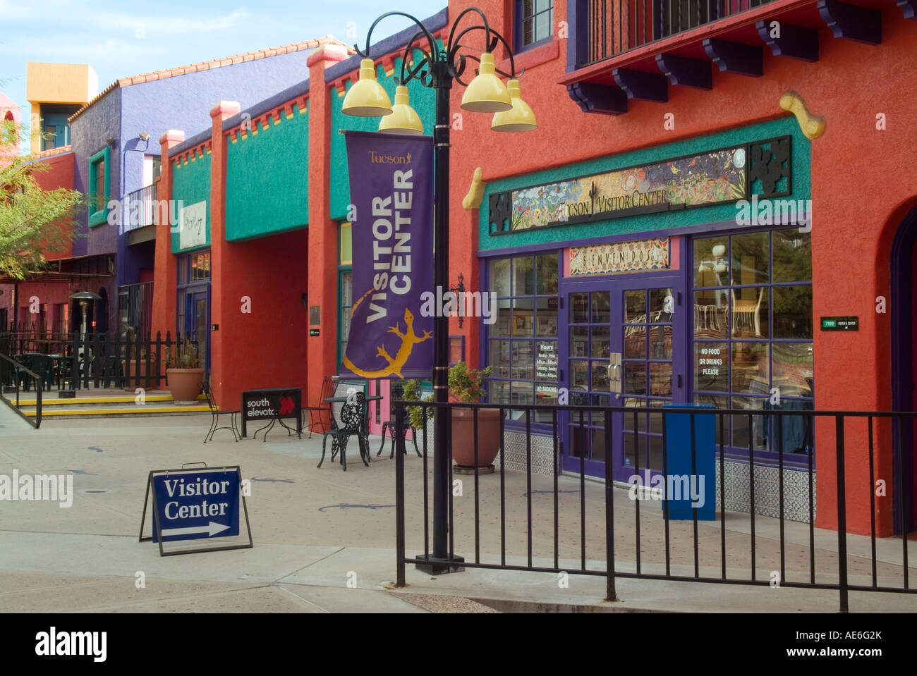 tucson visitor center in la placita plaza downtown tucson. Black Bedroom Furniture Sets. Home Design Ideas
