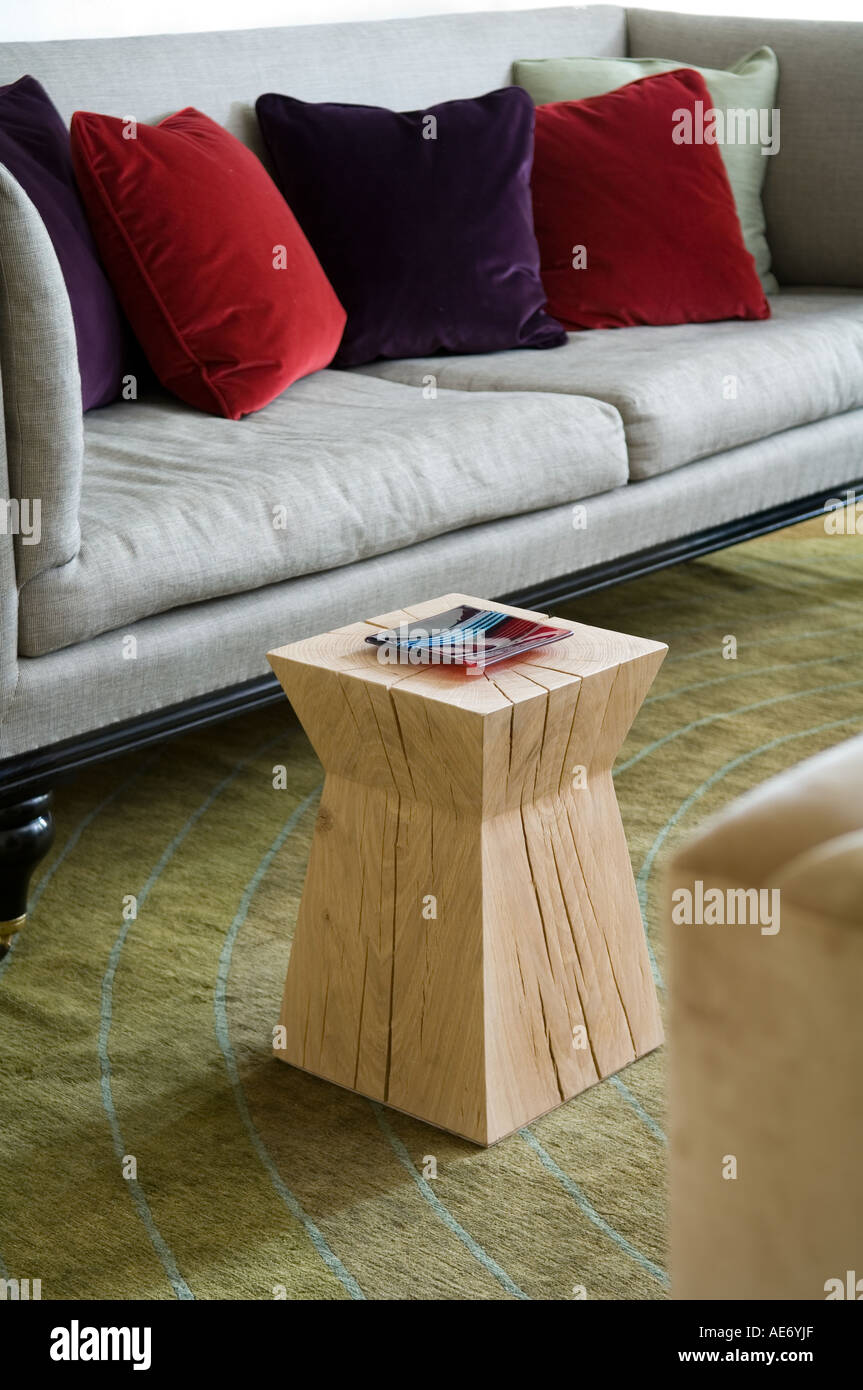 Christian Liaigre stool and sofa with velvet cushions  : christian liaigre stool and sofa with velvet cushions AE6YJF from www.alamy.com size 863 x 1390 jpeg 150kB