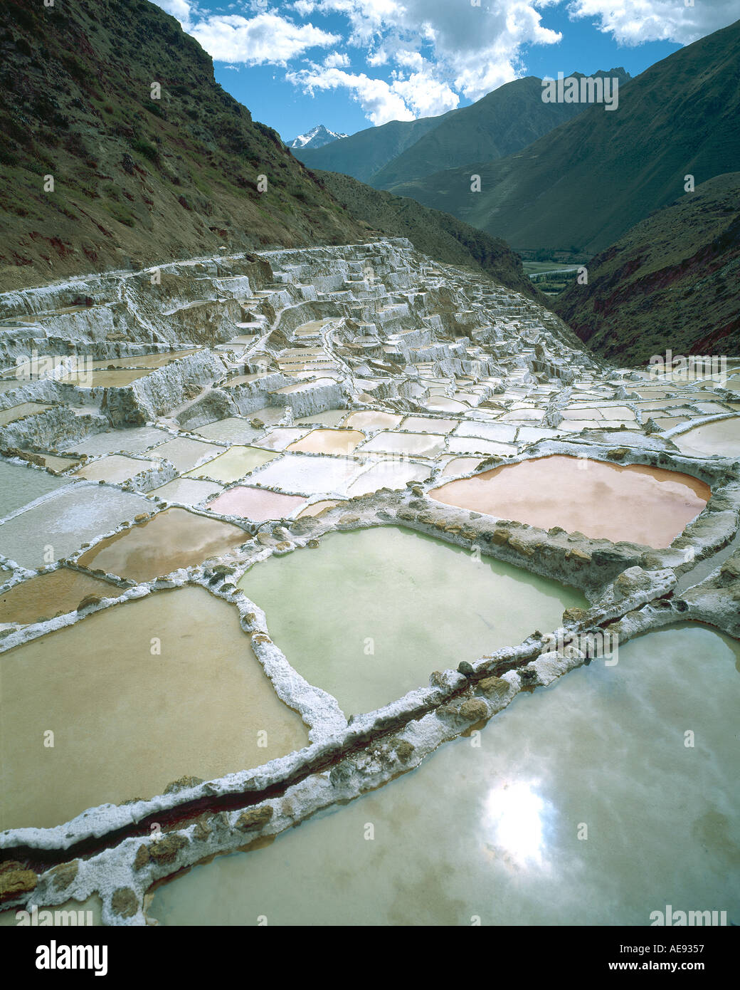 Mountain living near cusco peru royalty free stock photo - Maras Salt Mine In The Andes Mountains Near Cuzco Peru