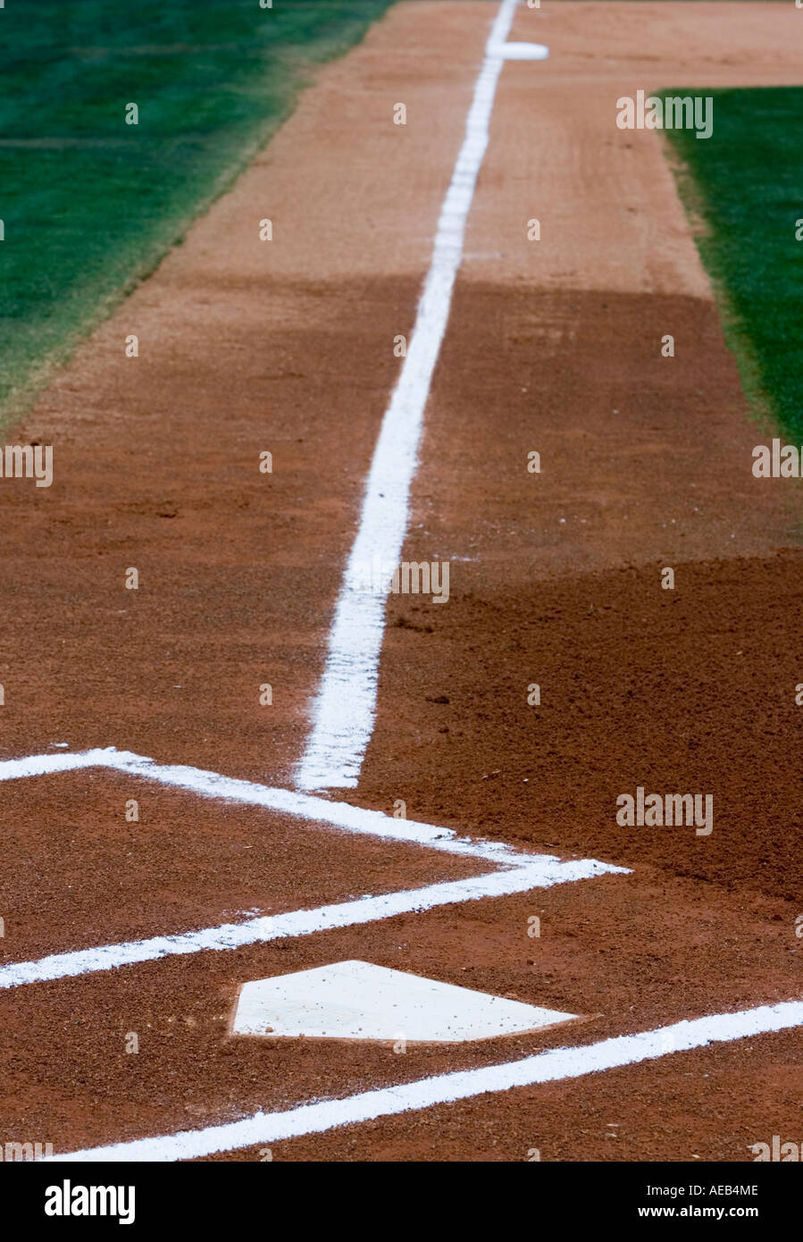 home plate and foul line stock photo royalty free image 7787085