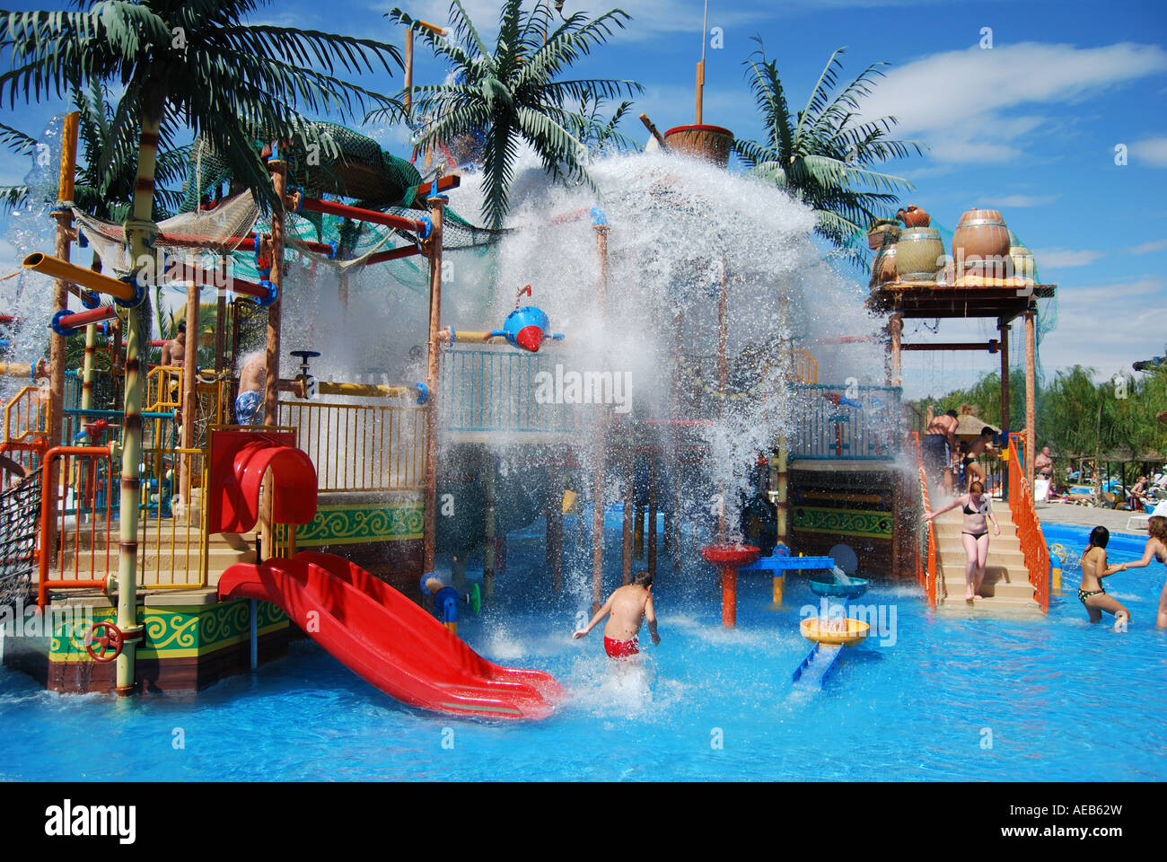 Childrens Pirate Caribbean Adventure, Aqualand Water Park ...