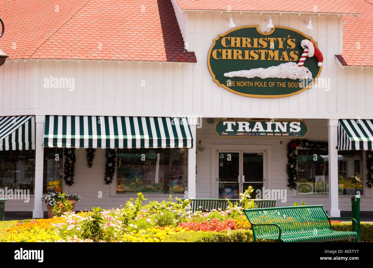Christys Christmas Shop Broadway At The Beach In Myrtle SC USA