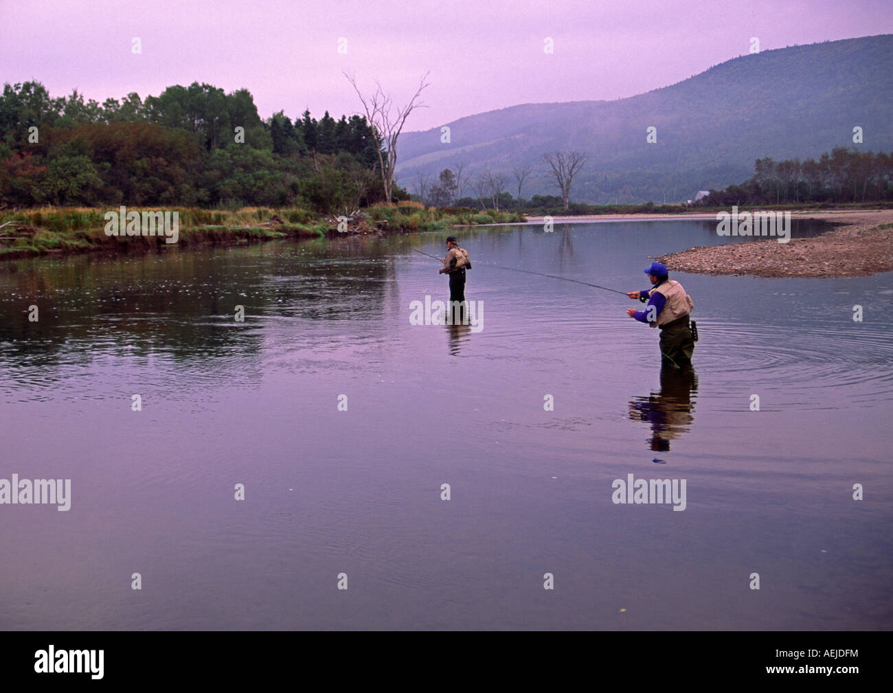Salmon angling fly fishing on the margaree river cape for Nova scotia fishing