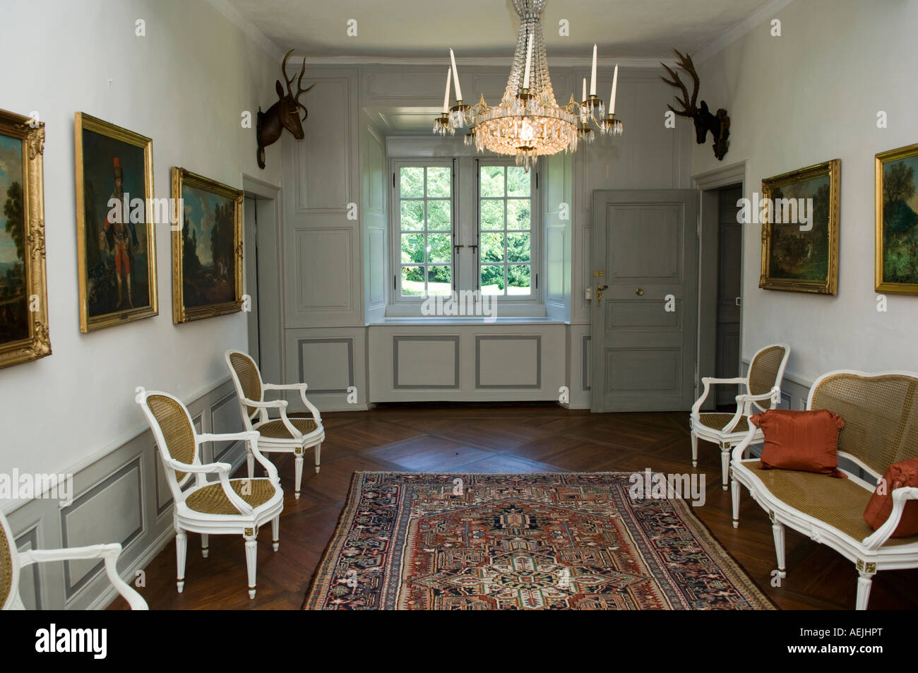 historical hunting lodge kranichstein darmstadt hesse germany stock photo royalty free image. Black Bedroom Furniture Sets. Home Design Ideas