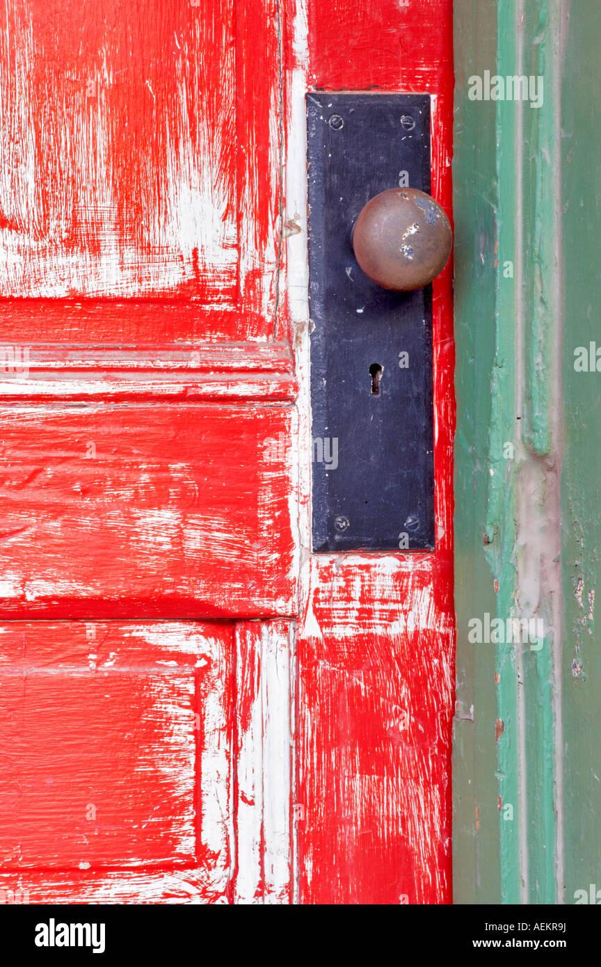 Great Old Red Door Tucson Arizona