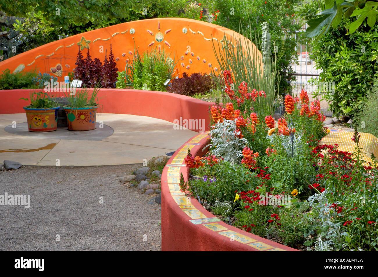 Garden Structure In Tucson Botanical Gardens Tucson Arizona