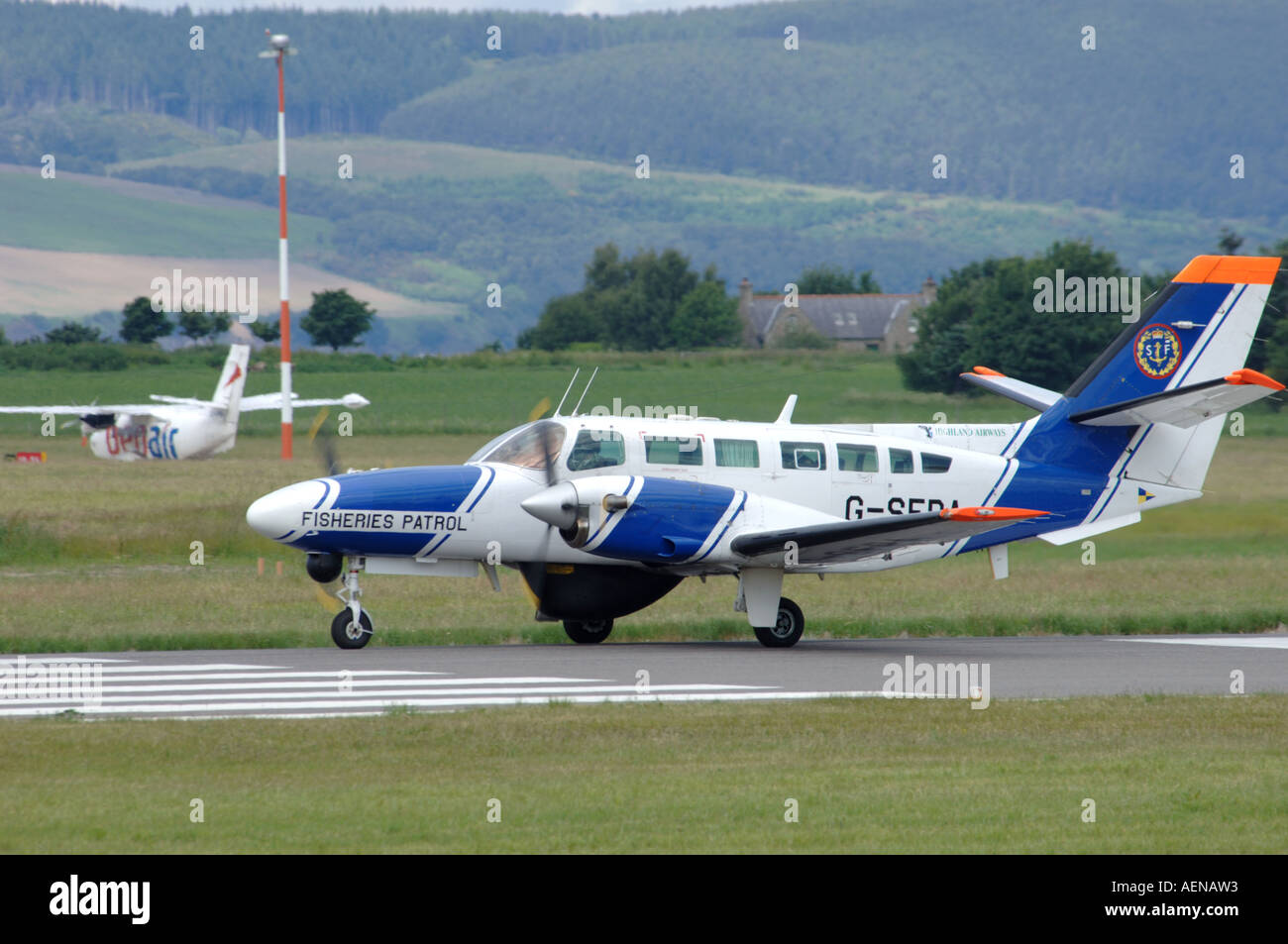 Cessna F406 Caravan ll Light 12 passenger cargo ...
