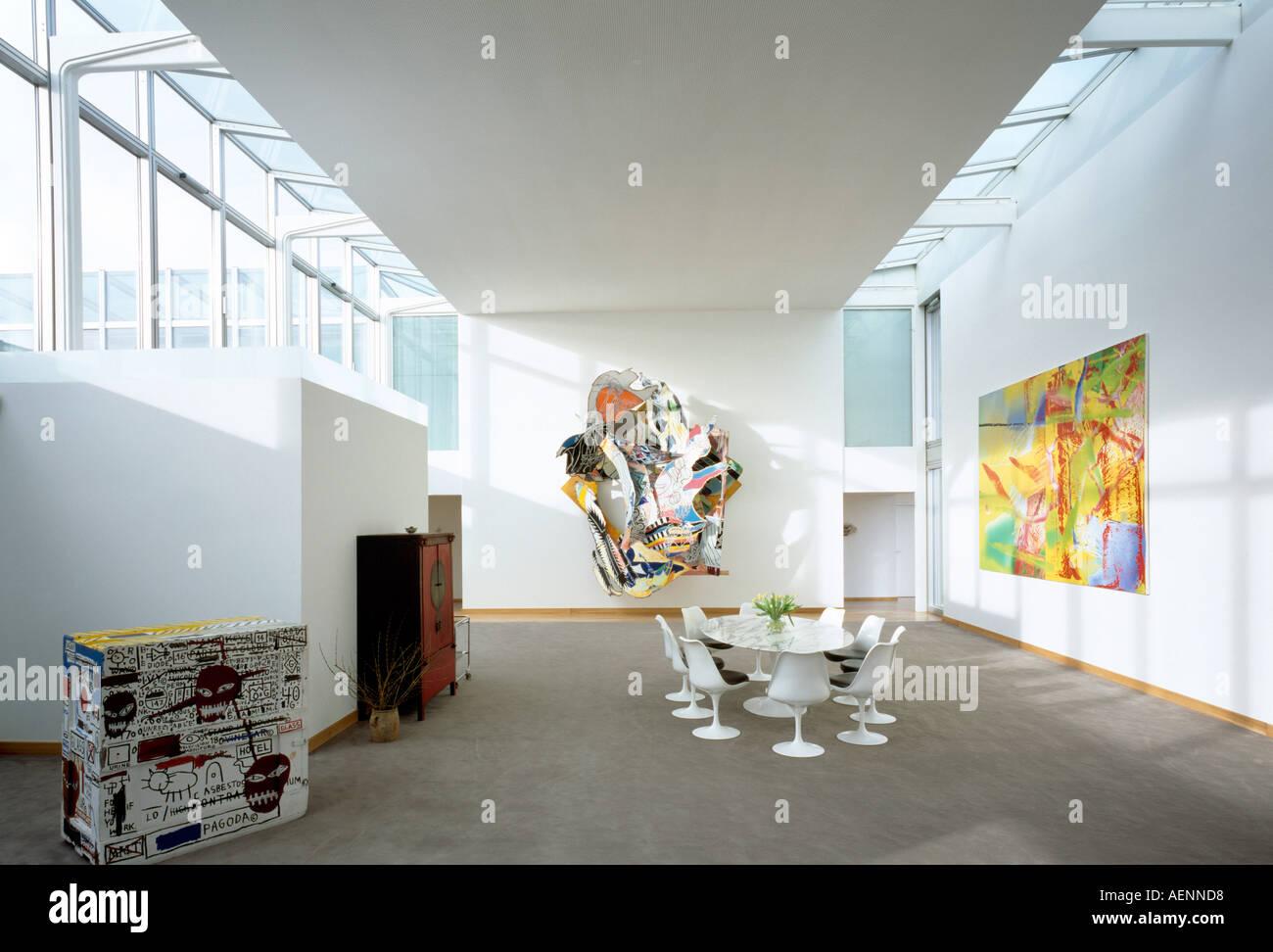 berlin, sofie-gibb-hof (mitte), sammlung hoffmann, wohnzimmer
