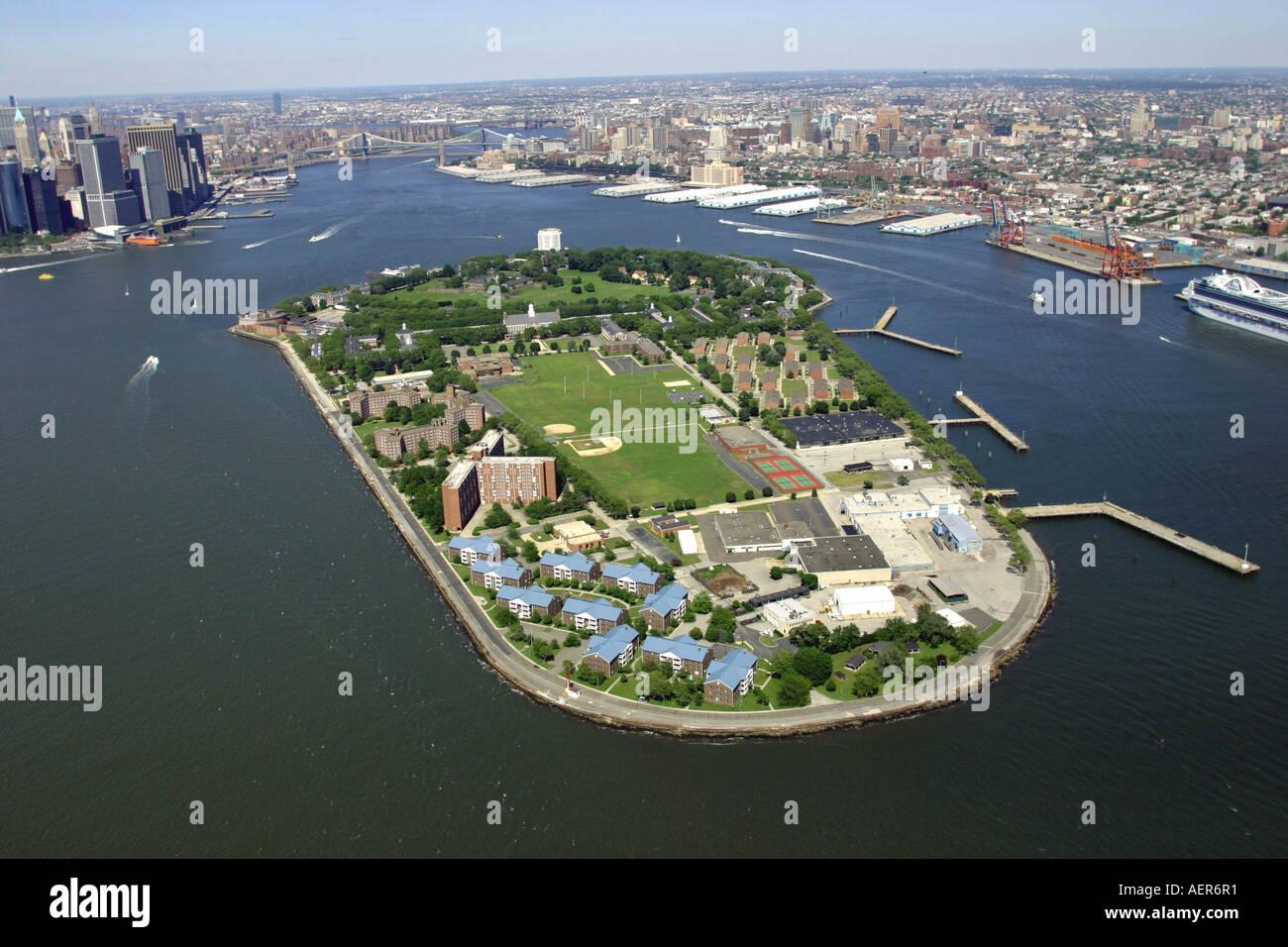Governors Island New York Harbor