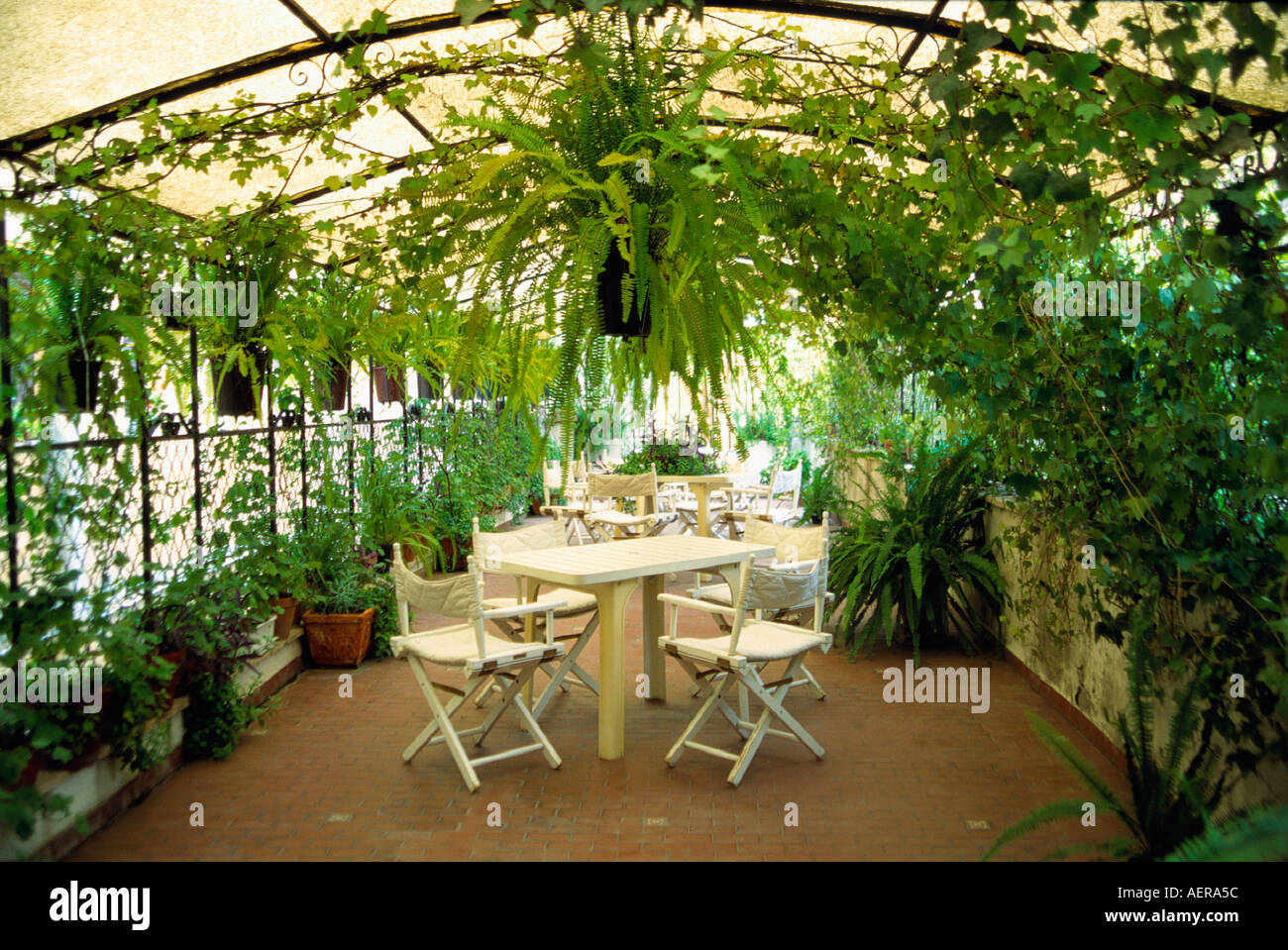 wintergarden hotel king city of rome italy stock photo royalty
