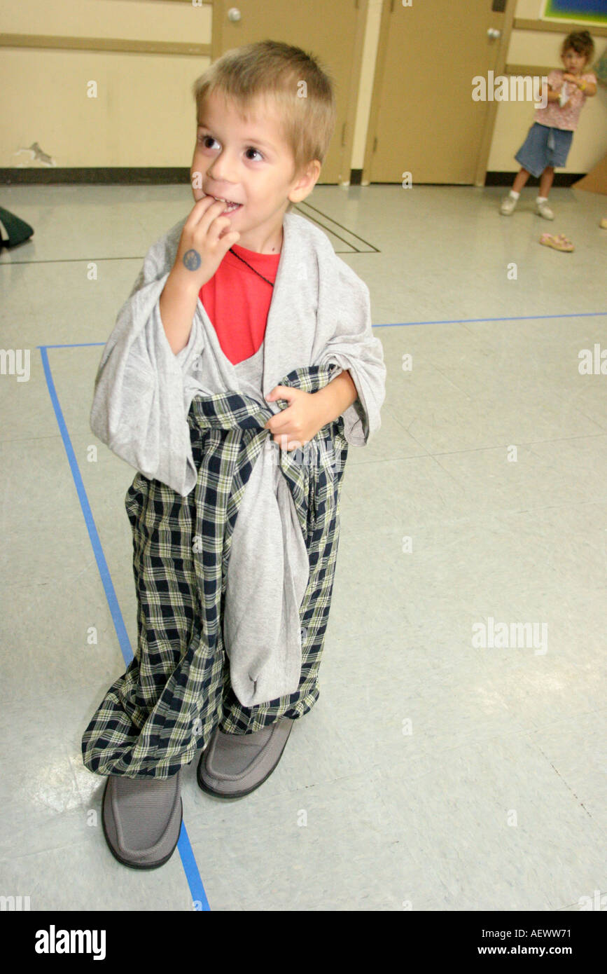 Florida Miami Gateway Baptist Church Vacation Bible School White Boy Stock Photo Picture And