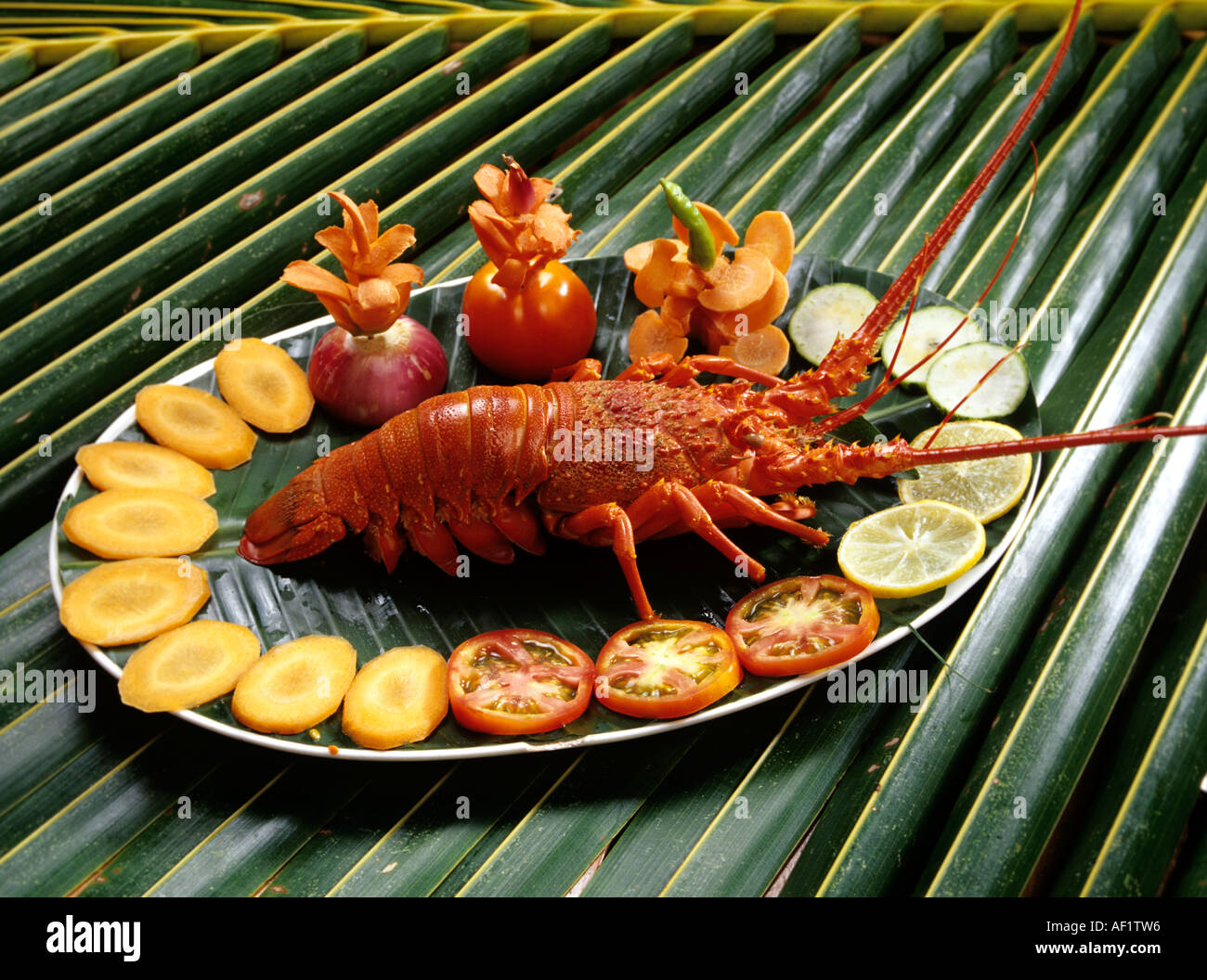 Lobster kerala cuisine stock photo royalty free image for Cuisine kerala