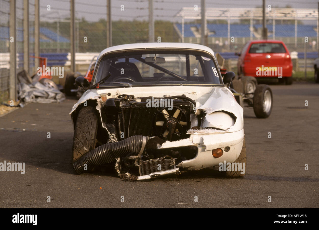 Car Crash Classic Car Stock Photo, Royalty Free Image: 4506903 - Alamy
