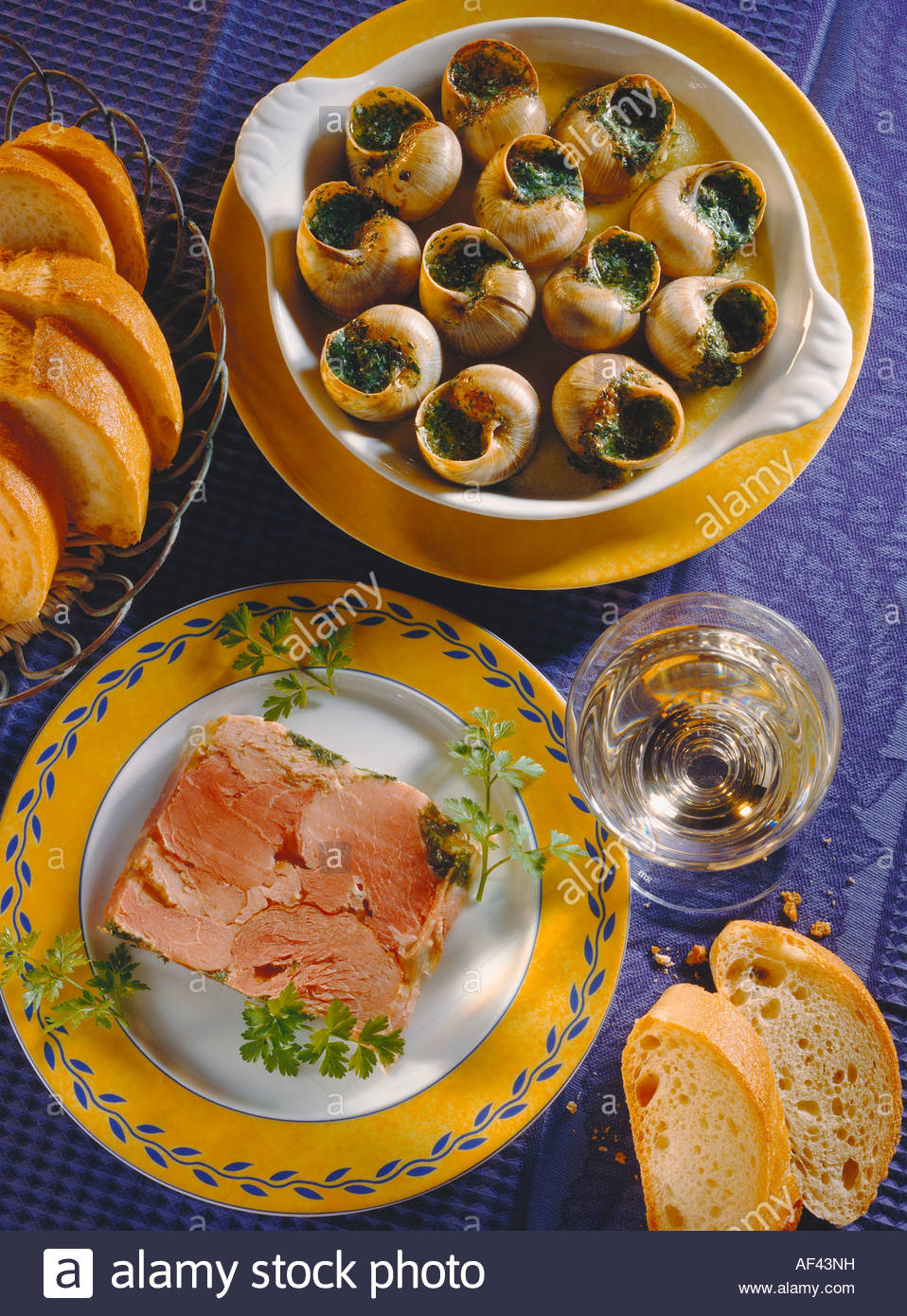 Snails With Herb Butter Recipe — Dishmaps