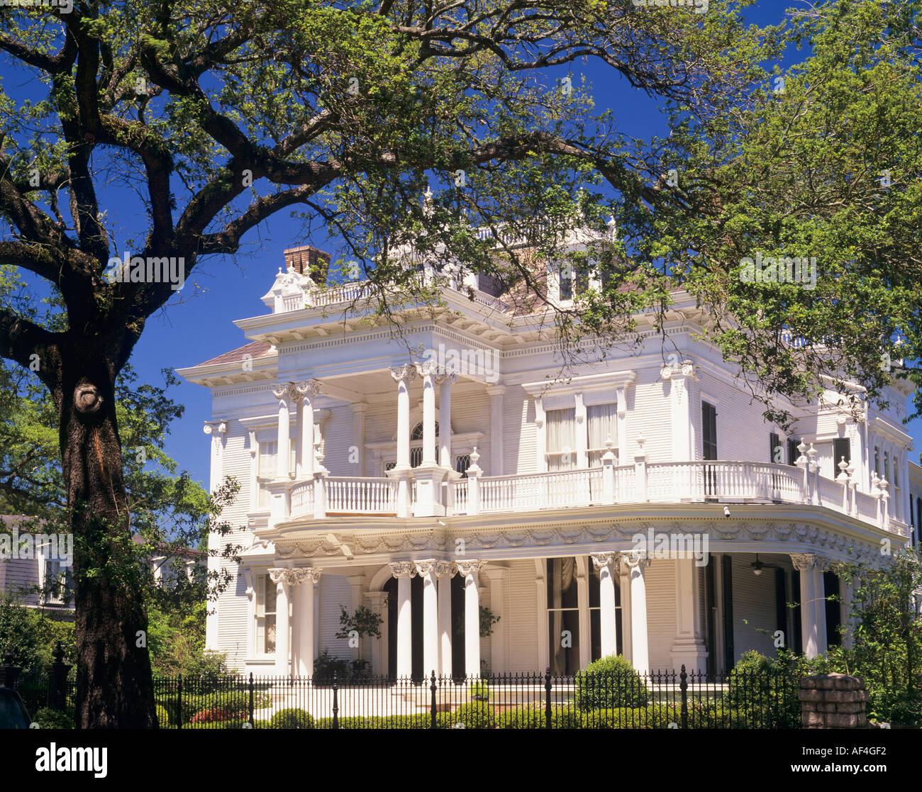 The Wedding Cake House St Charles Avenue New Orleans Louisiana USA