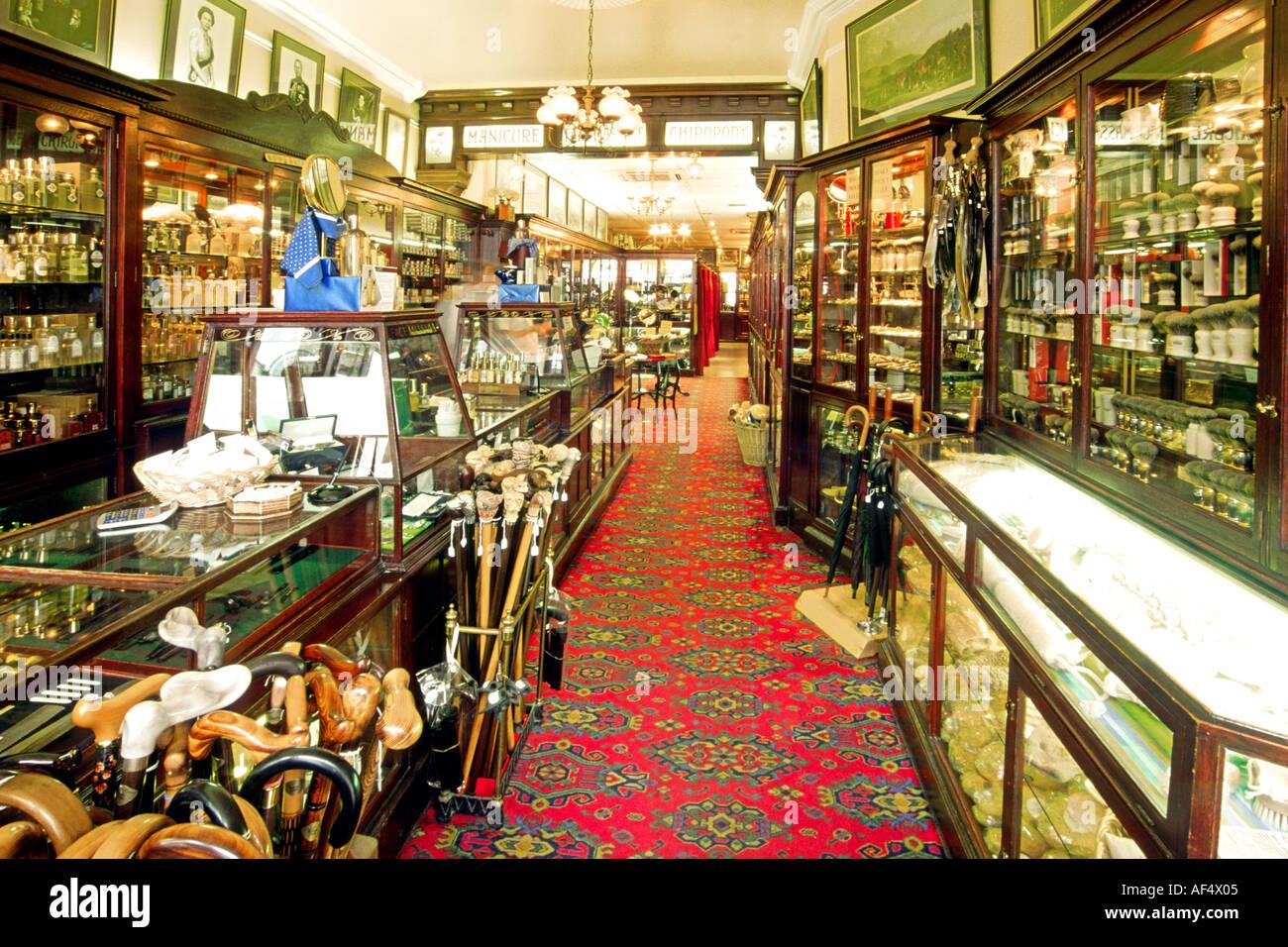 Victorian era interior - Stock Photo The Interior Of The Victorian Era George Trumper Barber S Shop In London