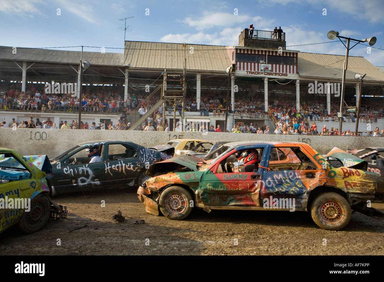 New york montgomery county fonda - Demolition Derby Fonda Fair 2007 Montgomery County New York