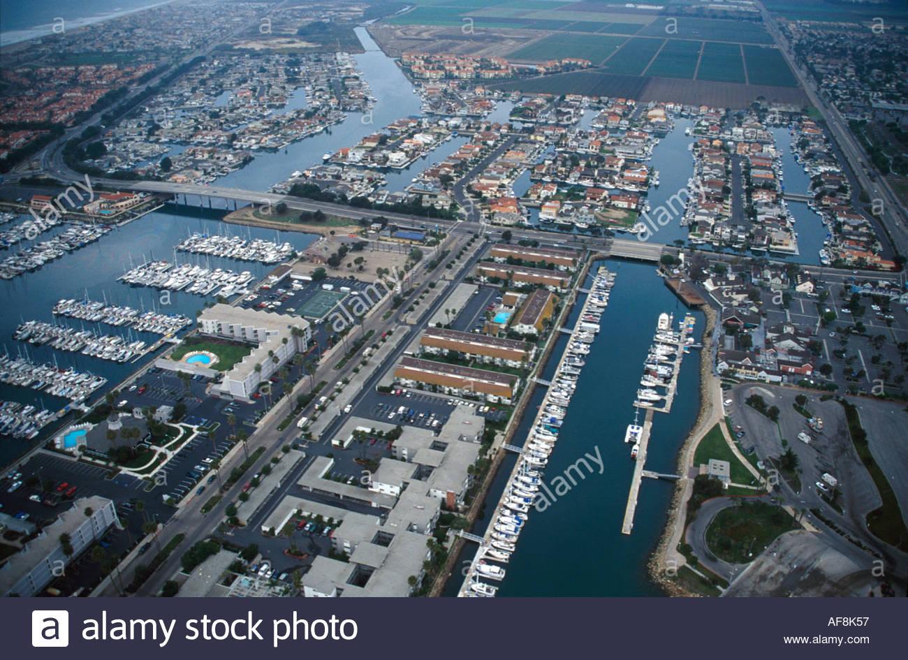 california oxnard aerial channel islands harbor hollywood