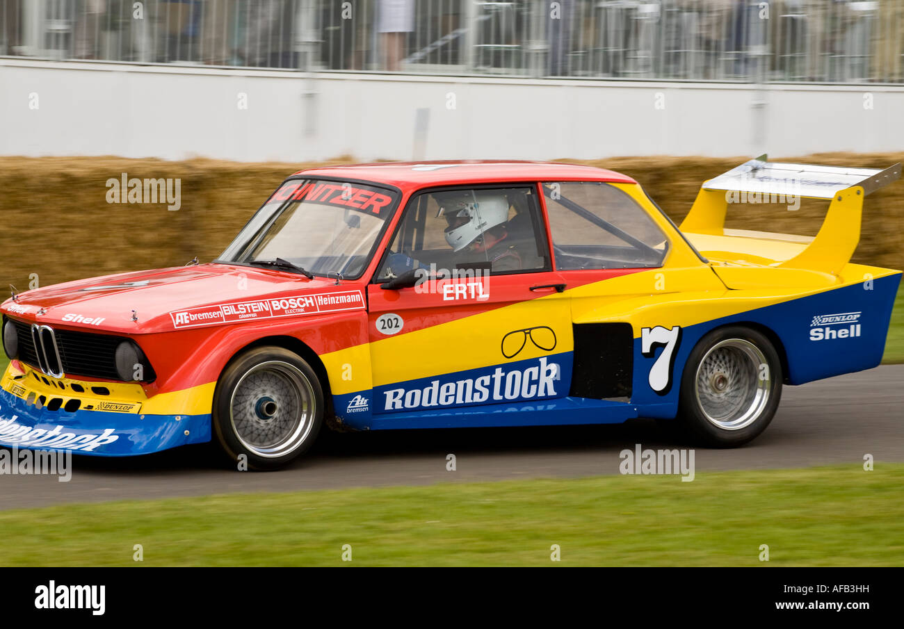 BMW Schnitzer Group Rally Car At Goodwood Festival Of - 1977 bmw