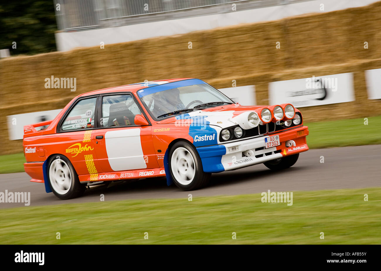 1987 BMW M3 Group A racing saloon at Goodwood Festival of Speed ...