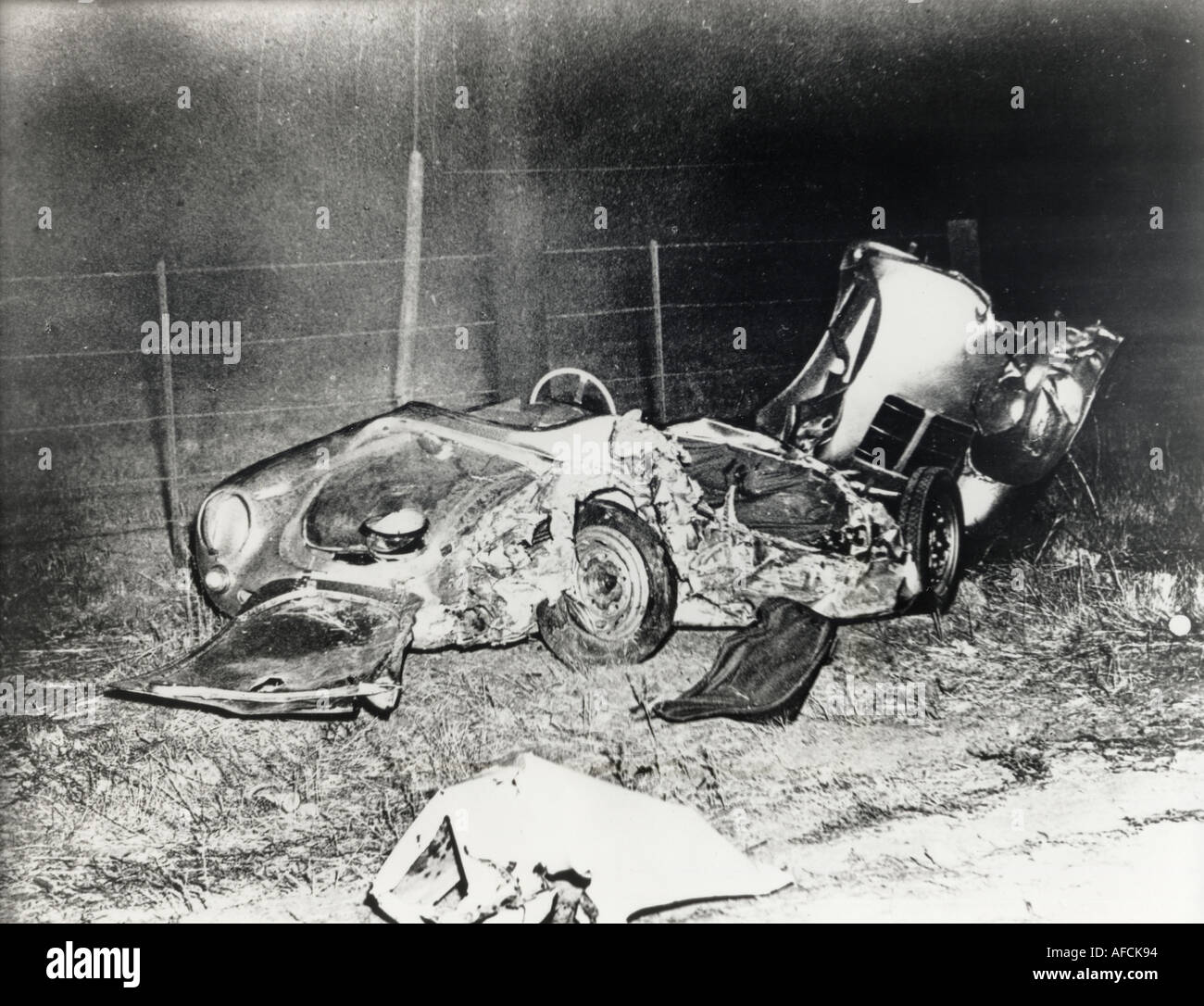 James Dean Died In This Porsche Spyder On 30 Septem Ber