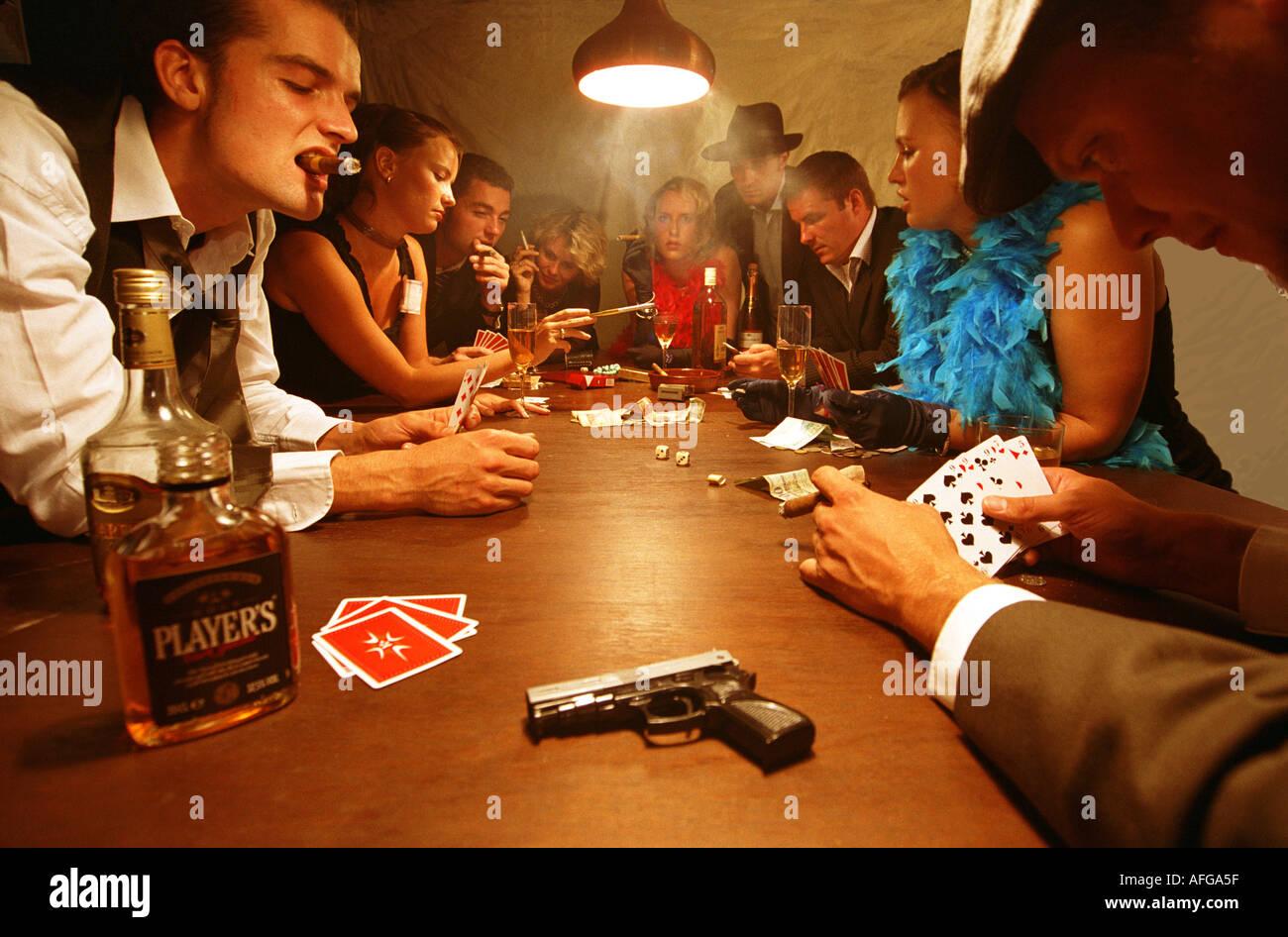 Poker alcohol