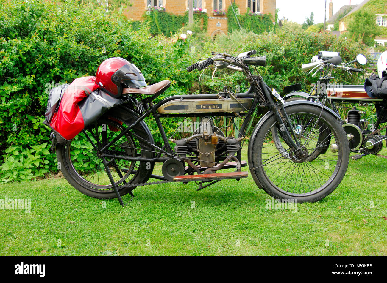 A Douglas vintage motorcycle Stock Photo: 4551610 - Alamy