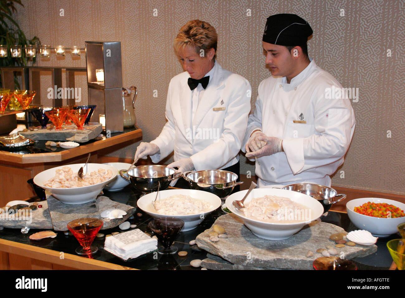 miami florida brickell avenue four seasons hotel cook server miami florida brickell avenue four seasons hotel cook server buffet food